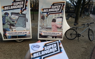 Start Superbelangrijk campagne in Amsterdam